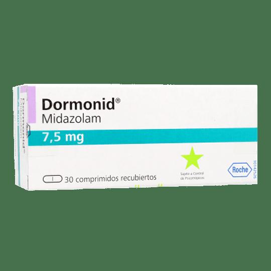 Dormonid 7,5 mg 30 comprimidos