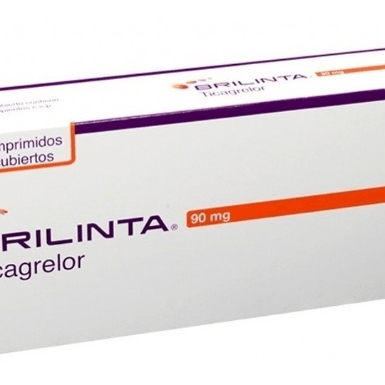 Brilinta 90mg por 30 comprimidos