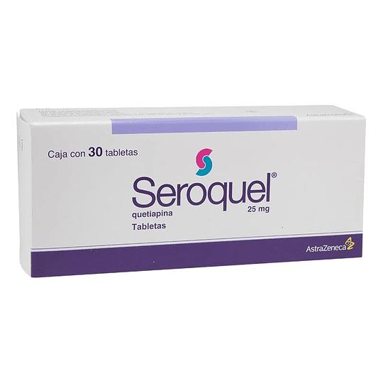 Seroquel 25 mg 30 comprimidos