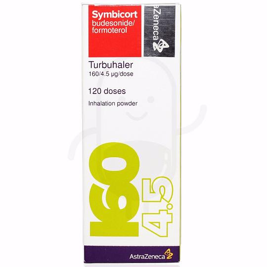 Symbicort Turbuhaler 160 / 4,5 mcg  Inhalador 120 dosis