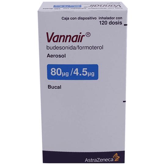 Vannair 80 / 4,5 mcg Inhalador 120 dosis