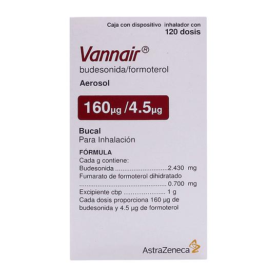 Vannair 160 / 4,5 mcg Inhalador 120 dosis