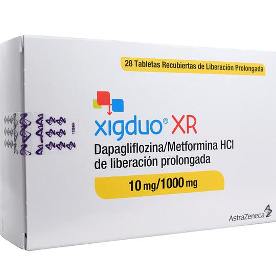Xigduo XR 10 mg / 1000 mg 28 tabletas