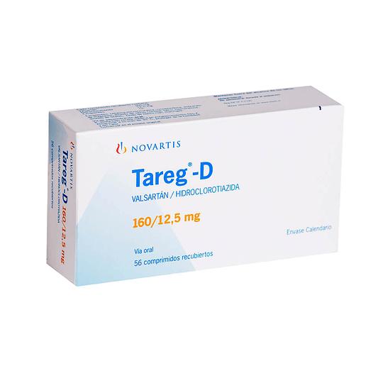 Tareg-D 160 / 12,5 mg 56 comprimidos