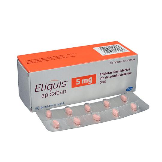 Eliquis  5 Mg por 60 comprimidos