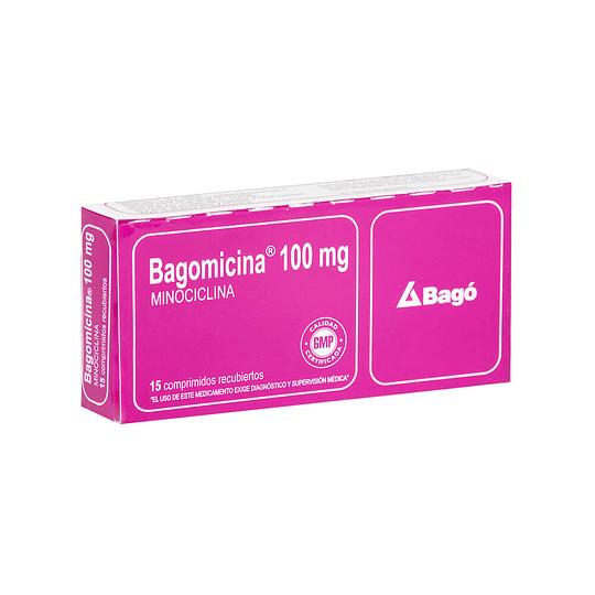 Bagomicina 100 mg  15 comprimidos