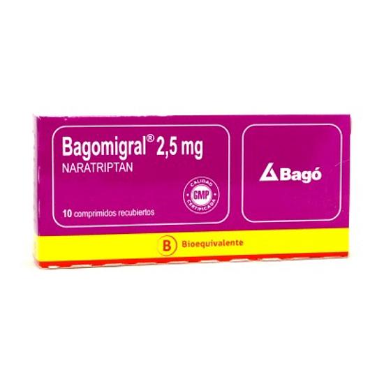 Bagomigral 2,5 mg 10 comprimidos