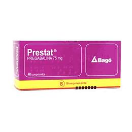 Prestat 75 mg 40 comprimidos
