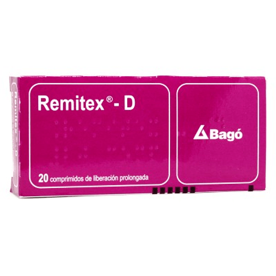 Remitex-D 20 comprimidos