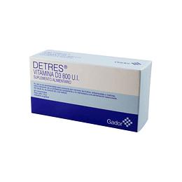 Detres Vitamina D3 800 UI 60 Comprimidos