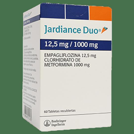 Jardiance Duo 12,5 / 1000 mg 60 comprimidos