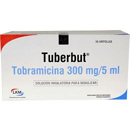 tuberbut 300mg/5ml solución inhalatoria 56 ampollas