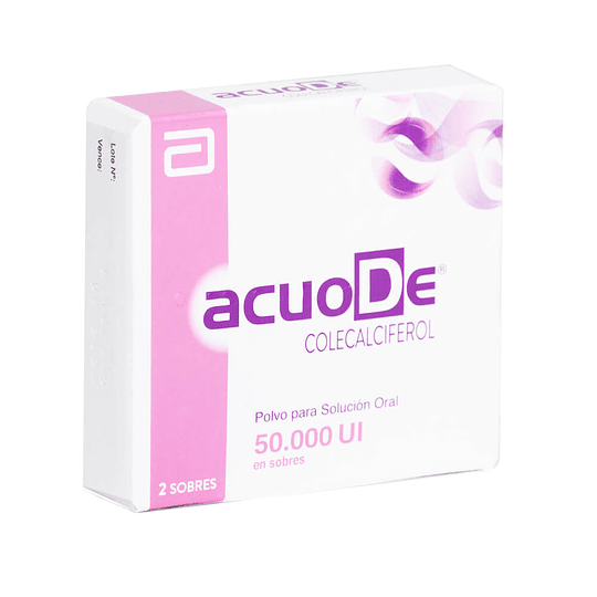 AcuoDe 50.000 UI 2 sobres