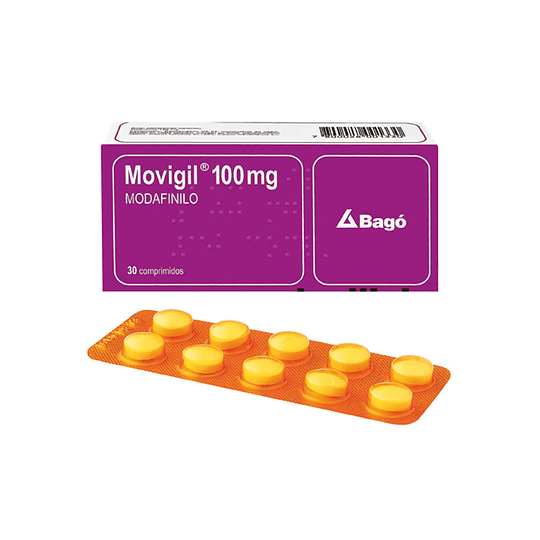 Movigil 100 mg 30 comprimidos