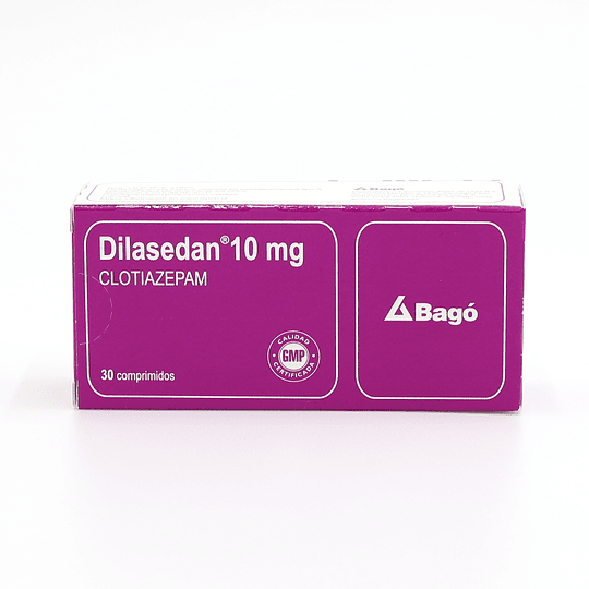 Dilasedan 10 mg  30 comprimidos