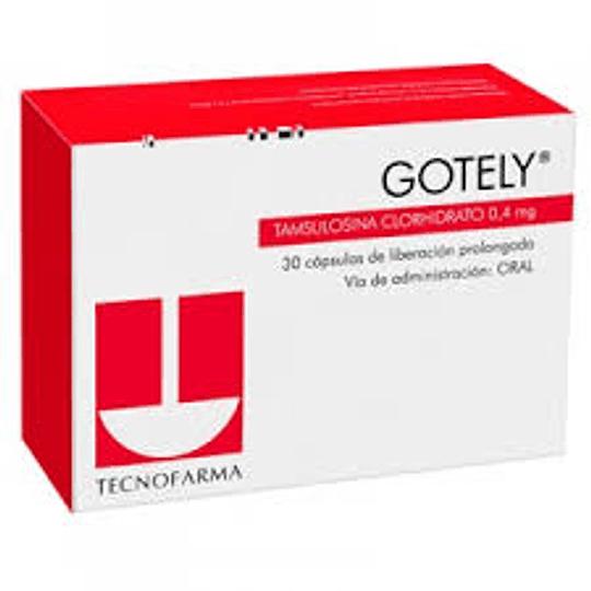 Gotely 4 mg 30 cápsulas