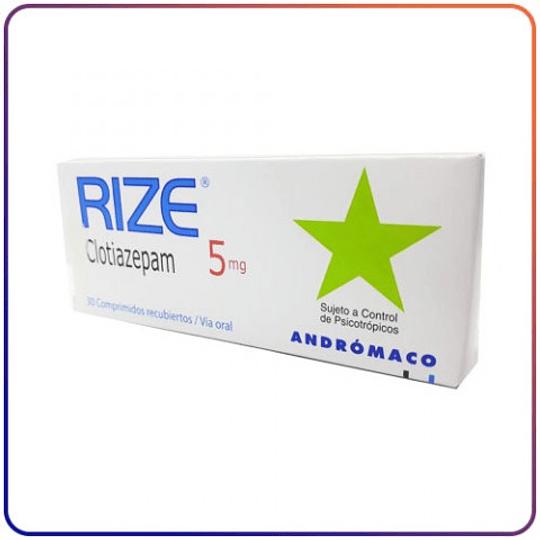 Rize 5mg por 30 comprimidos