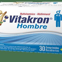 Vitakron Hombre 30 Comprimidos recubiertos