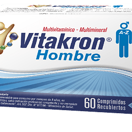 Vitakron Hombre 60 Comprimidos recubiertos