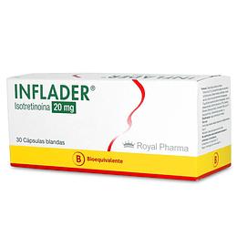 Inflader 20 mg 30 cápsulas blandas.
