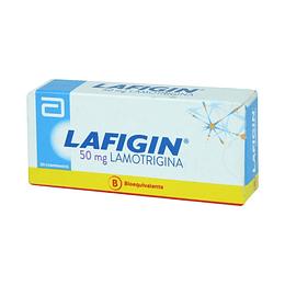 Lafigin 50 mg 30 comprimidos.