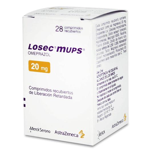 Losec mups 20 mg 28 comprimidos