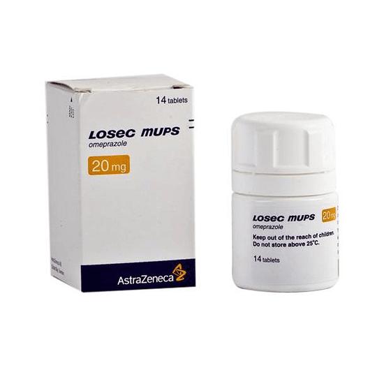 Losec mups 20 mg 14 comprimidos