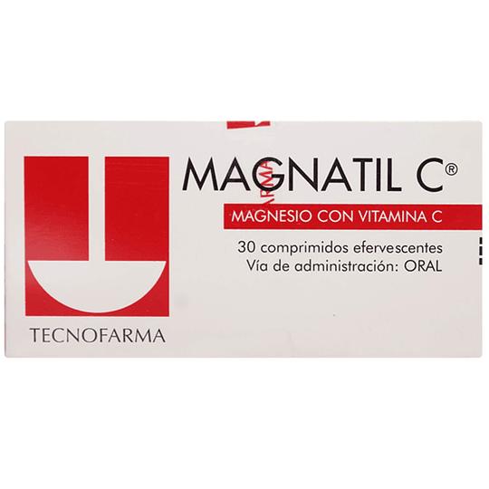 Magnatil C 30 comprimidos efervescentes
