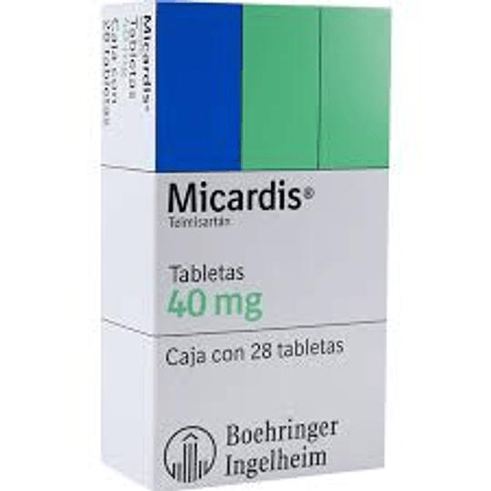 Micardis 40 mg 28 tabletas