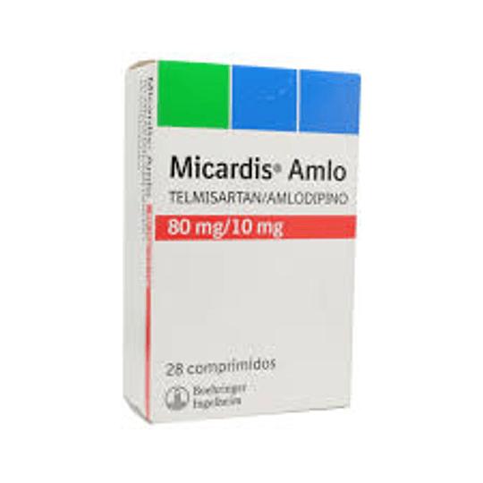 Micardis Amlo 80 mg / 10 mg 28 comprimidos