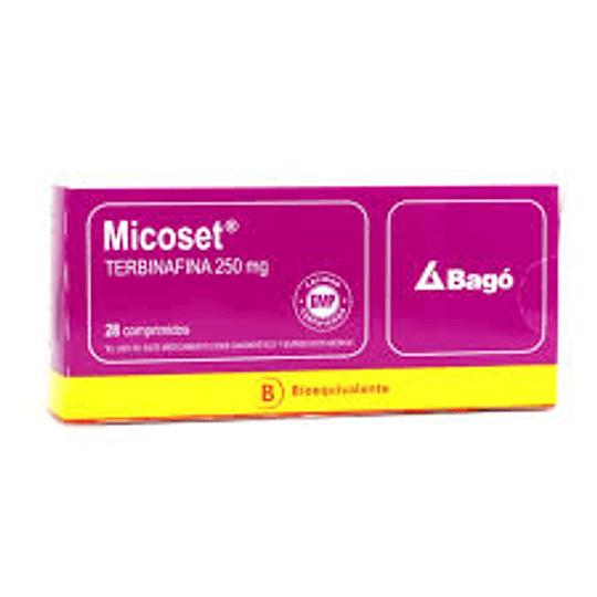 Micoset 250 mg 28 comprimidos
