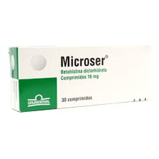 Microser 16 mg 30 comprimidos
