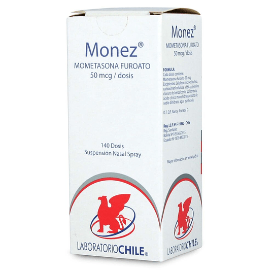 Monez 50 mcg Spray nasal 140 dosis