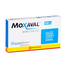 Moxaval 400 mg 7 comprimidos