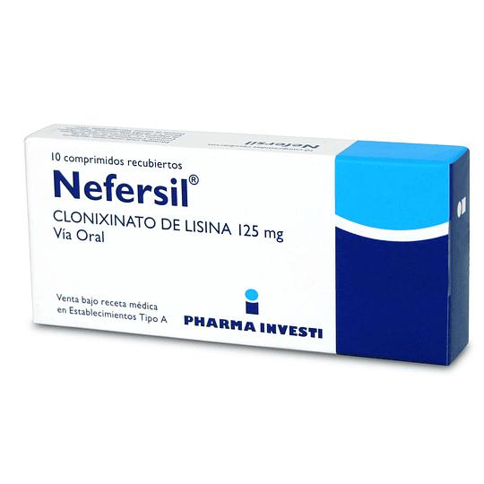 Nefersil 125 mg 10 comprimidos