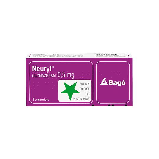 Neuryl 0,5 mg 30 comprimidos