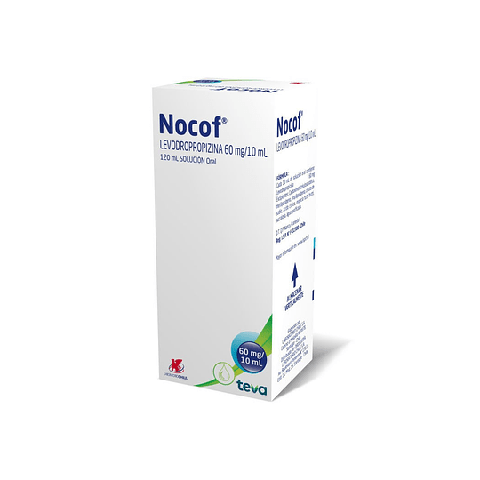 Nocof 60 mg / 10 ml Jarabe  120 ml
