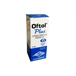 Oftol Plus Solución oftálmica 5 ml