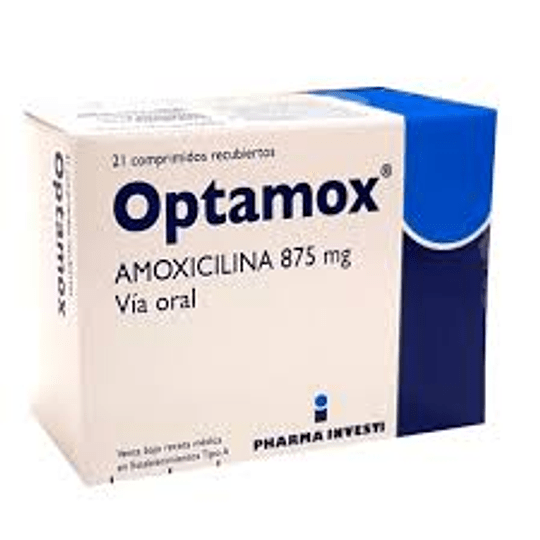 Optamox 875 mg 21 comprimidos