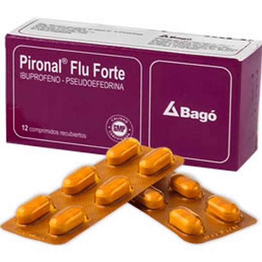 Pironal Flu Forte 12 comprimidos