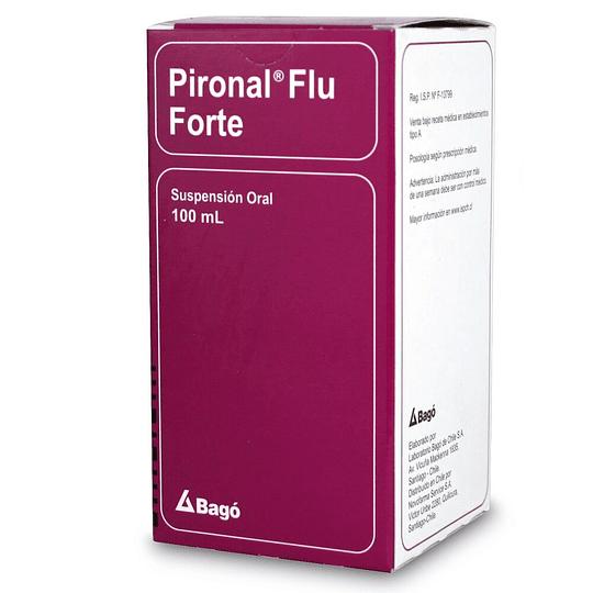 Pironal Flu Forte Suspensión 100 ml