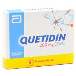 Quetidin 200 mg 30 comprimidos