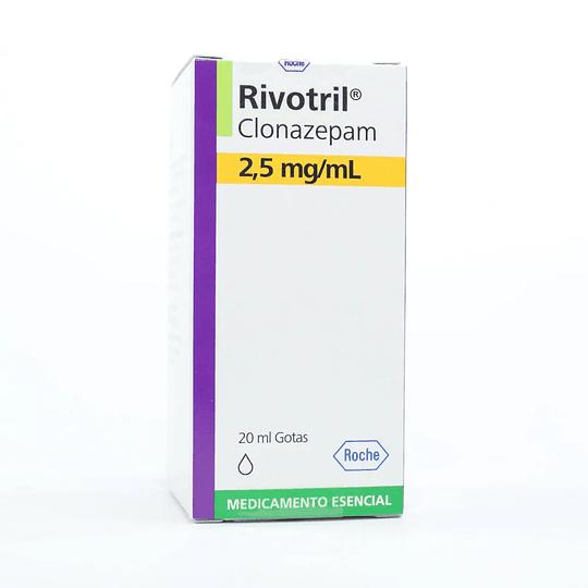 Ravotril 2,5 mg / ml Gotas 20 ml