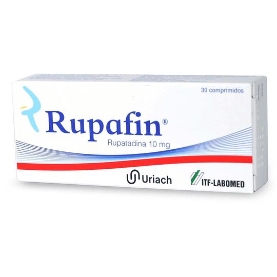 Rupafin 10 mg 30 comprimidos