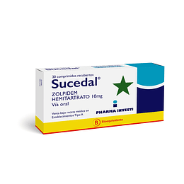 Sucedal 10 mg 30 comprimidos