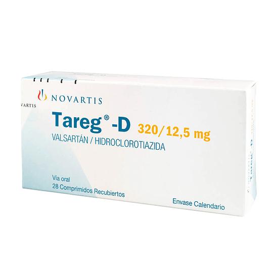 Tareg-D 320 / 12,5 mg 28 comprimidos