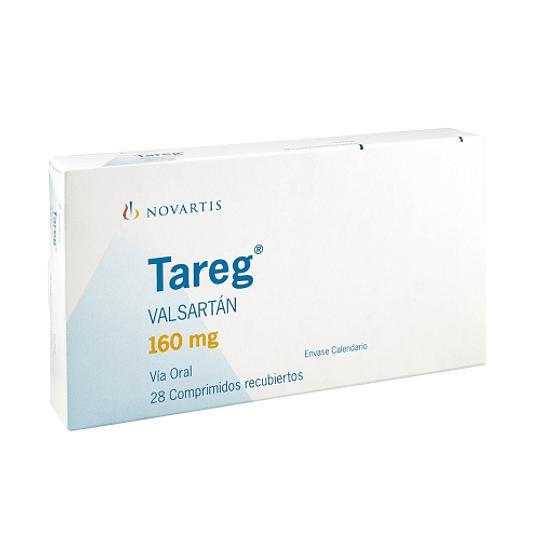Tareg 160 mg 28 comprimidos