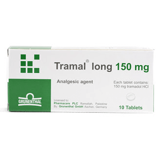 Tramal long  150 mg 10 comprimidos