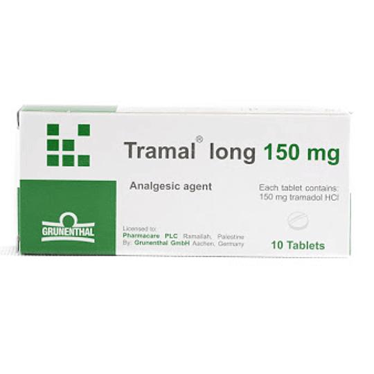 Tramal long  150 mg 10 comprimidos