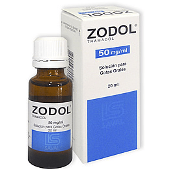 Zodol 50 mg / ml Gotas 20 ml
